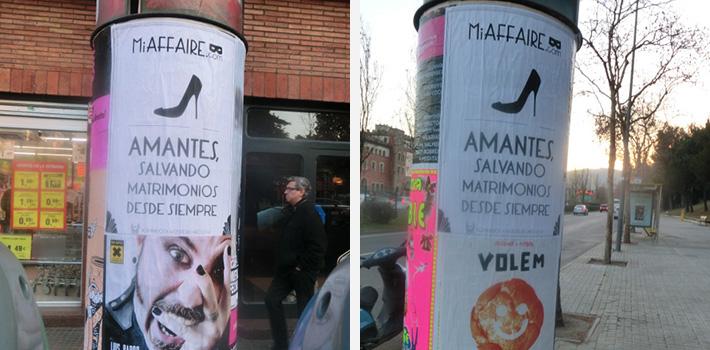 carteles en barcelona