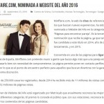 website del año